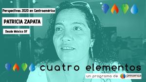 """""""Considerar los maras como terroristas es justificar la intervención externa"""" Patricia Zapata"""