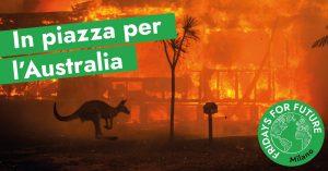 Sciopero davanti al Consolato australiano | #AustraliaOnFire