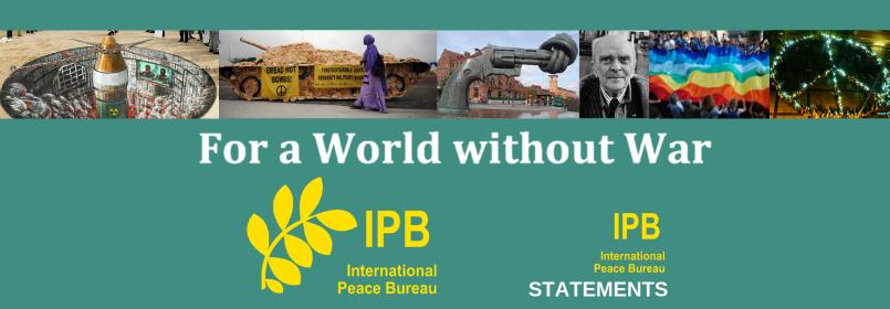No to War – IPB Statement on the U.S. Assassination of General Soleimani