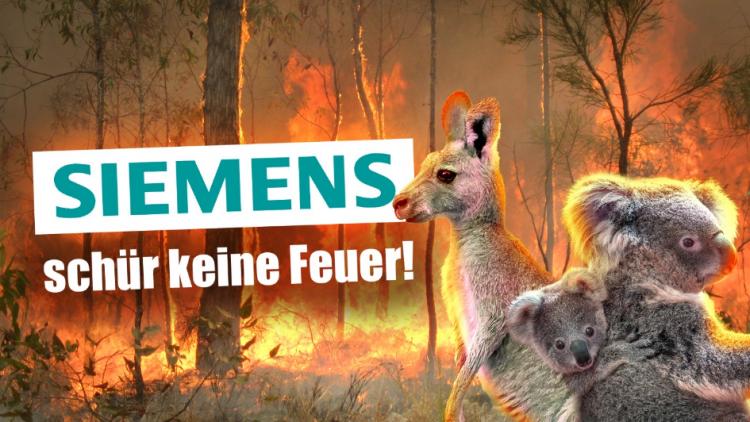 Streik am 10.01. und anschließende 24-Stunden-Mahnwache organisiert von Fridays For Future München gegen die Beteiligung von Siemens am Bau der Adani-Kohlemine in Australien