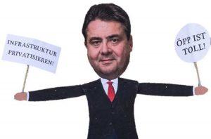 Gabriel hilft beim Privatisieren – wie schon als Minister