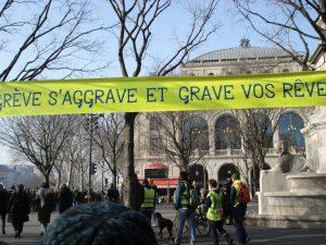 [Reportage-photo] Manifestations des 24 et 25 janvier contre le projet de loi des retraites et Gilets Jaunes