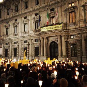 25 gennaio 2020, fiaccolate in tutta Italia per Giulio Regeni