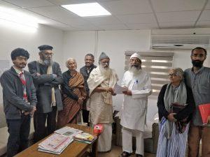 Il ministro indiano Pratap Chandra Sarangi chiede al Niti Ayog di considerare le richieste del movimento Satyagraha