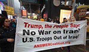 No alla guerra contro l'Iran: oltre 70 manifestazioni negli Stati Uniti