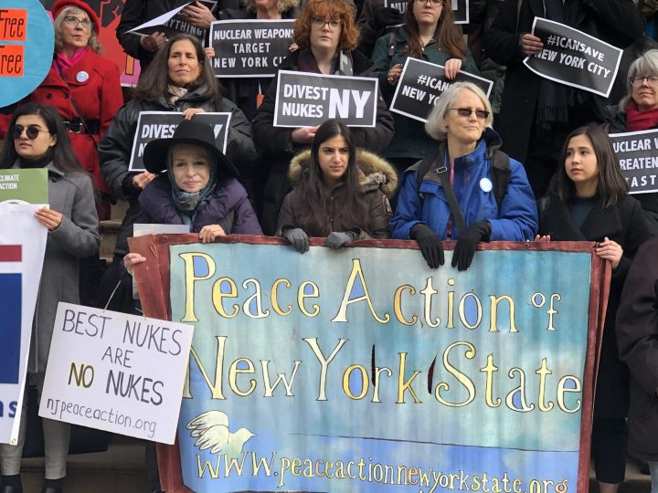 Peace Action at Press Conference-Hearing