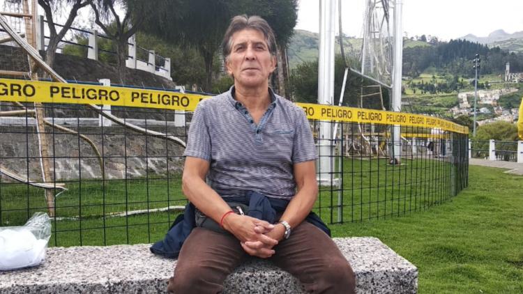 Juan Gómez, 2da Marcha Mundial por la Paz y la No-violencia en Ecuador