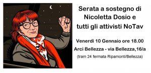 Nicoletta Dosio: non si può chiudere una montagna in una cella