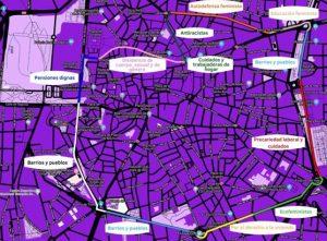 El 8M comenzará un mes antes en Madrid con una cadena feminista, que rodeará el centro de la ciudad