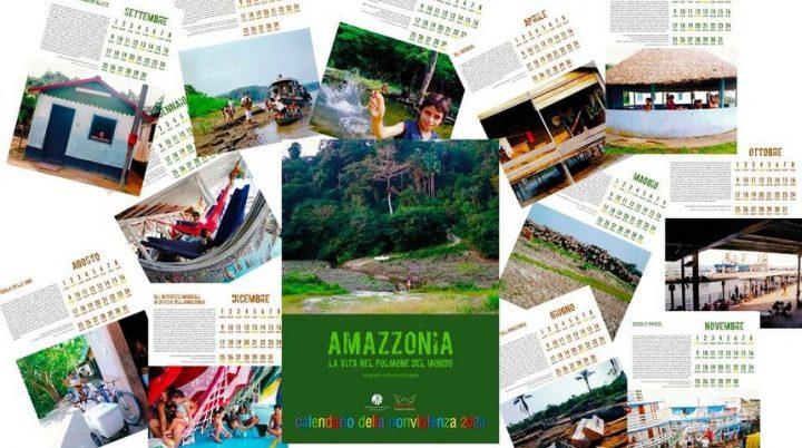Il calendario della nonviolenza dedicato all'Amazzonia