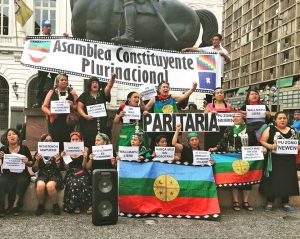 Mujeres mapuche en resistencia