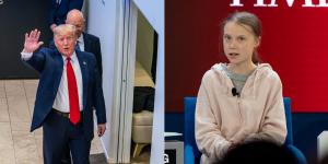 """Greta a Davos: """"Ogni frazione di grado pesa: solo 8 anni per cambiare rotta"""". Trump: """"Profeti di sventura"""""""