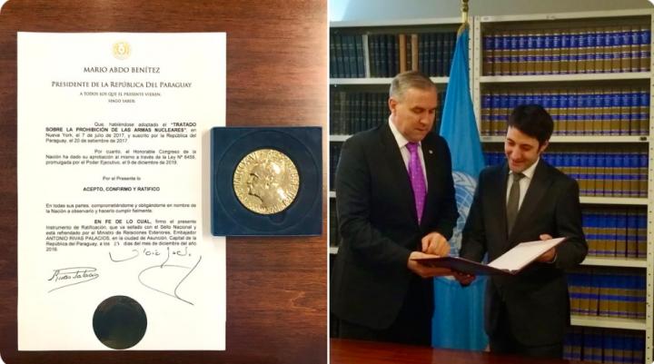 Il Paraguay ratifica il Trattato di Proibizione delle Armi Nucleari