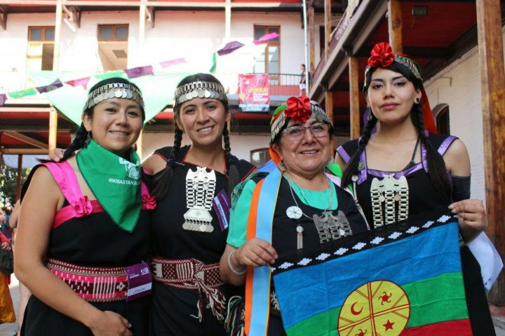 mulheres mapuche