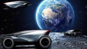 FOTOS: Lexus muestra su visión de vehículos para viajar hacia y sobre la Luna