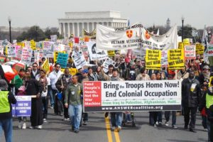 Convocan movilizaciones en los Estados Unidos para oponerse a una guerra contra Irán