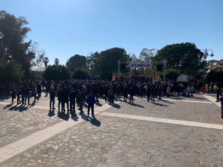Riace, Salvini e Forza nuova