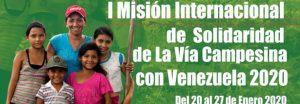 La Vía Campesina en Venezuela: una misión por la fraternidad, la solidaridad y la verdad de los pueblos