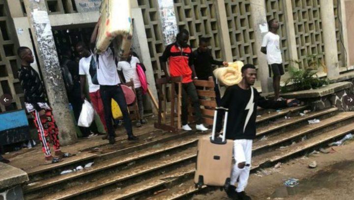 R.D. Congo, i volontari aiutano gli studenti dopo lo sgombero dell'università