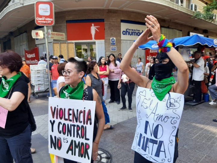 Santiago de Chile: preparando el 8 de marzo