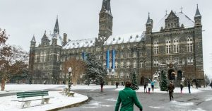 'Something Big Is Shifting': As Georgetown Announces Fossil Fuel Divestment, Students Across US Demand Their Schools Follow Suit