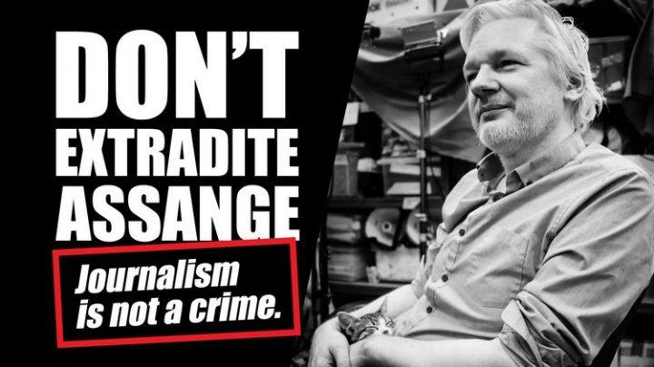 [Reportage photo] Mouvement mondial de soutien à Assange