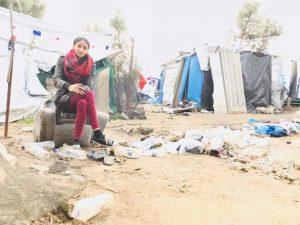 Campo Moria a Lesbo: diffondiamo l'angosciato appello di Nawal Soufi