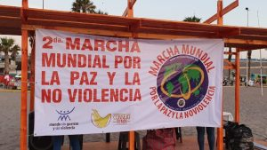 The 2nd World March in Latin America with its message of Peace and Nonviolence