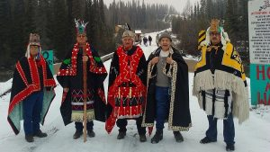 Wet'suwet'en Hereditary Chiefs meet with government representative
