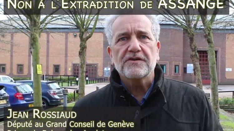 Non à l'extradiction de Assange : le Visa Humanitaire des parlementaires Genevois