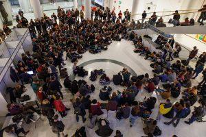 Assemblea antifascista al Campus dell'Università di Torino
