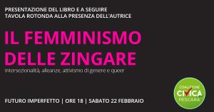 Femminismo delle zingare, Laura Corradi presenta il suo libro a Pescara.