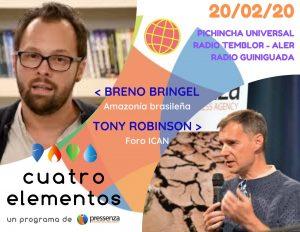 Cuatro Elementos del 20/02/2020 Armas Nucleares y Pueblos Originarios de Brasil