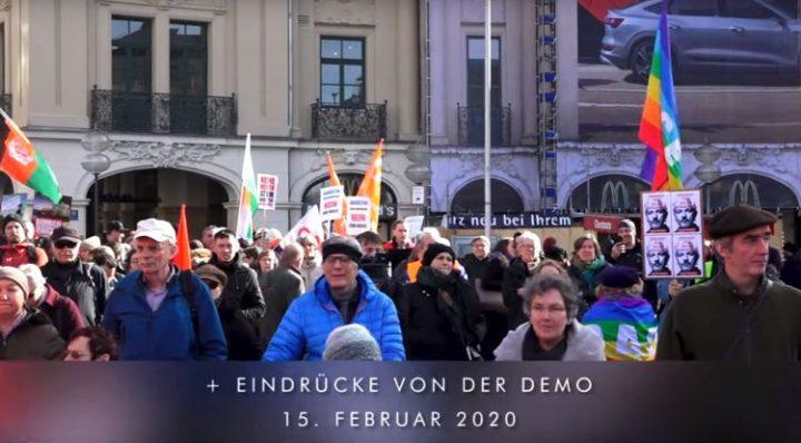 """Nein zur Provokation gegen Russland durch Defender Protest gegen """"Sicherheitskonferenz"""" in München"""
