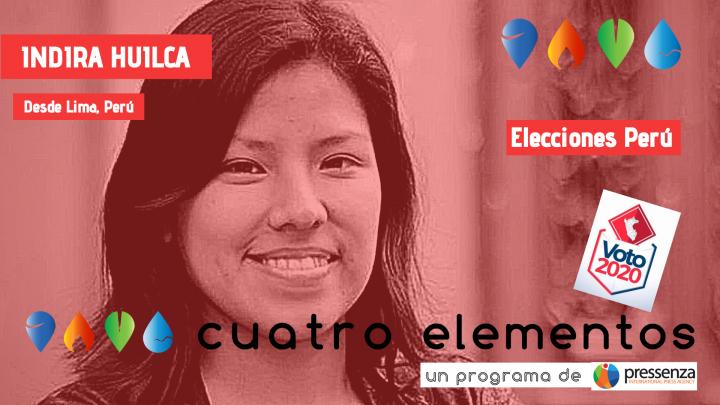 Indira Huilca «Las elecciones fueron una válvula de escape frente al descrédito de la política en el Perú»