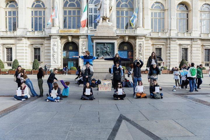 Fridays For Future in piazza a Torino contro il TTIP