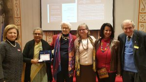Ela Gandhi al Senato: la donna e l'umanesimo integrale