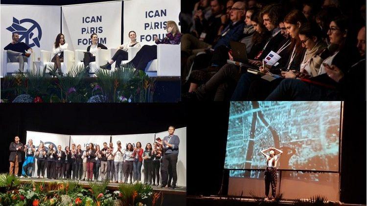 ICAN PARIS FORUM – Deuxième journée : « Faire de tentatives et voir ce qui marche et ce qui ne marche pas »