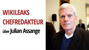 #FreeAssange: WikiLeaks Chefredakteur Kristinn Hrafnsson berichtet