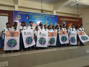 La Marcia Mondiale per la Pace e la Nonviolenza nel Tamil Nadu