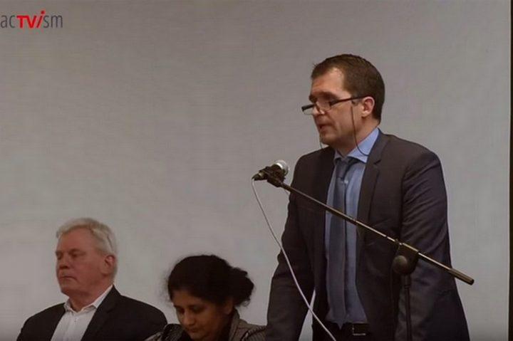 Nils Melzer, le rapporteur spécial des Nations unies sur l'affaire Julian Assange