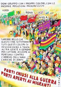 Movimenti contro la guerra, la repressione, il razzismo in Sicilia