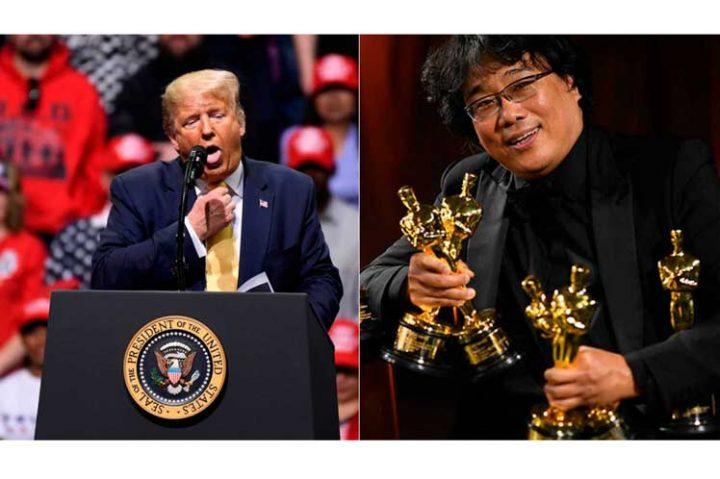 Trump critica película Parásitos y multiplica desprecio del público