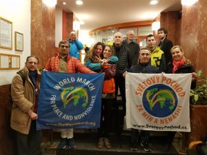 La Seconda Marcia Mondiale per la Pace e la Nonviolenza a Praga