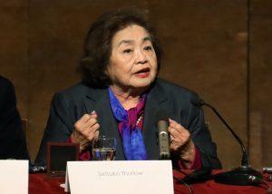 Setsuko Thurlow revive cada día su dolor, para romper el silencio que encubre el horror de las armas nucleares
