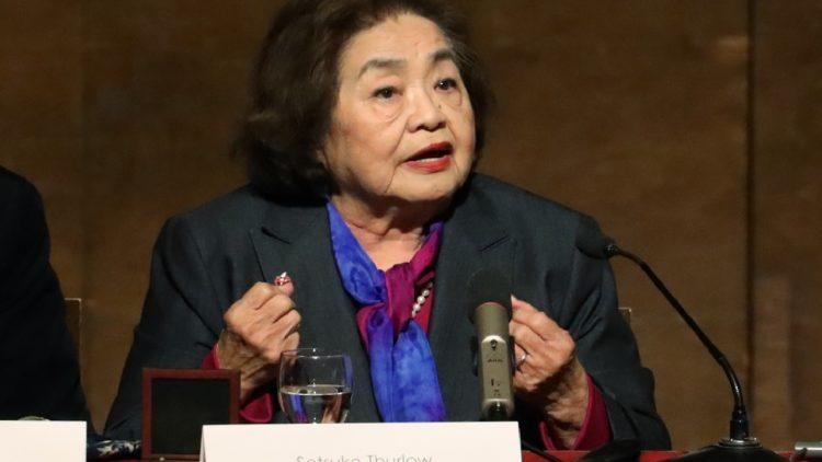 Setsuko Thurlow revit sa douleur chaque jour, pour rompre le silence qui couvre l'horreur des armes nucléaires