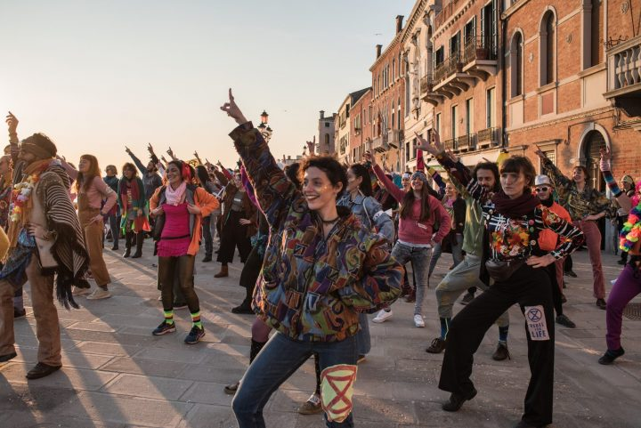 Extinction Rebellion: discobedience lagunare a Venezia