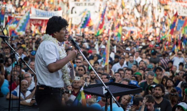 Evo Morales propõe pacto nacional de paz para eleições na Bolívia