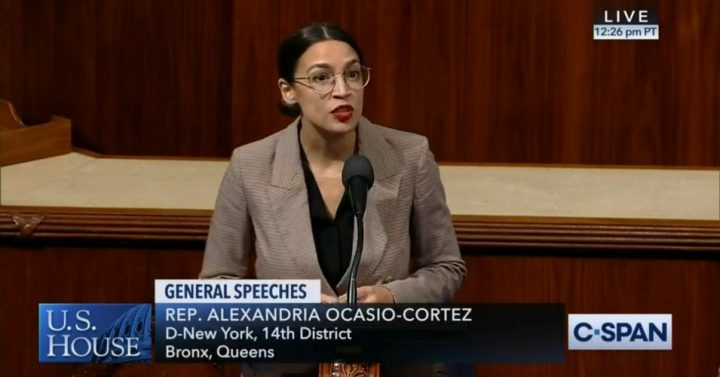 WATCH: Ocasio-Cortez Reads Full Green New Deal Resolution on House Floor to Help Improve GOP Comprehension