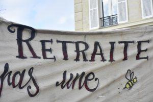 Φωτορεπορτάζ: διαδηλώσεις ενάντια στις μεταρρυθμίσεις του συνταξιοδοτικού